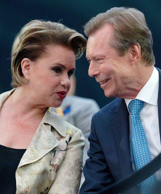 Foto: Los grandes duques de Luxemburgo. (Getty)