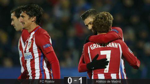 Carrasco se hace dueño y señor del Atlético con otro gol que da tres puntos