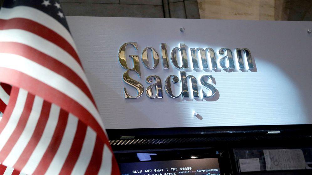 Foto: Puesto de Goldman Sachs en la bolsa de Nueva York. (Reuters)