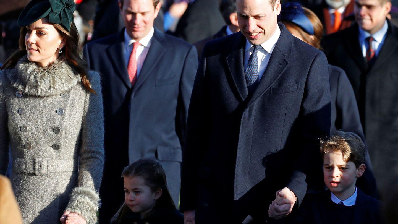 Los Cambridge, con sus hijos. (Reuters)