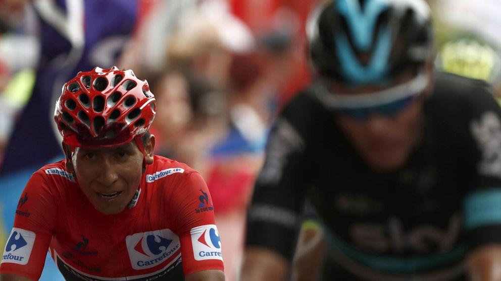 El duelo entre Nairo y Froome se cita en la etapa más dura de La Vuelta