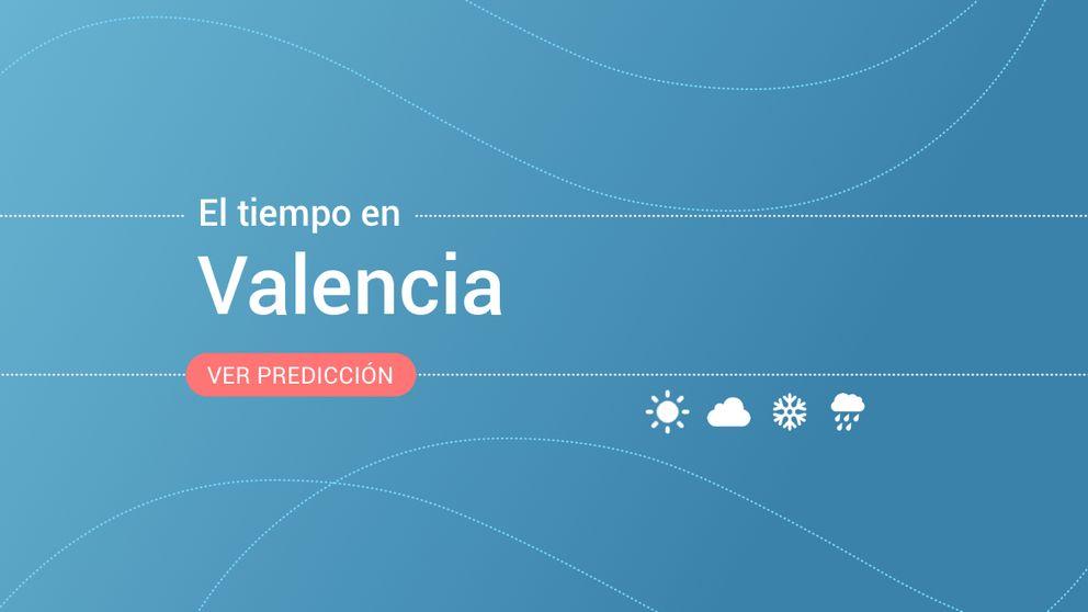 El tiempo en Valencia para mañana: alerta amarilla por fenómenos costeros