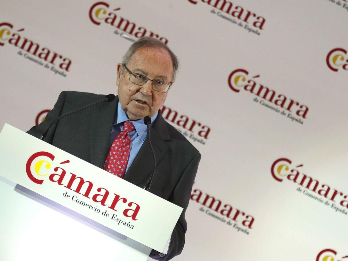 Foto: José Luis Bonet, presidente de la Cámara de España. (Efe)