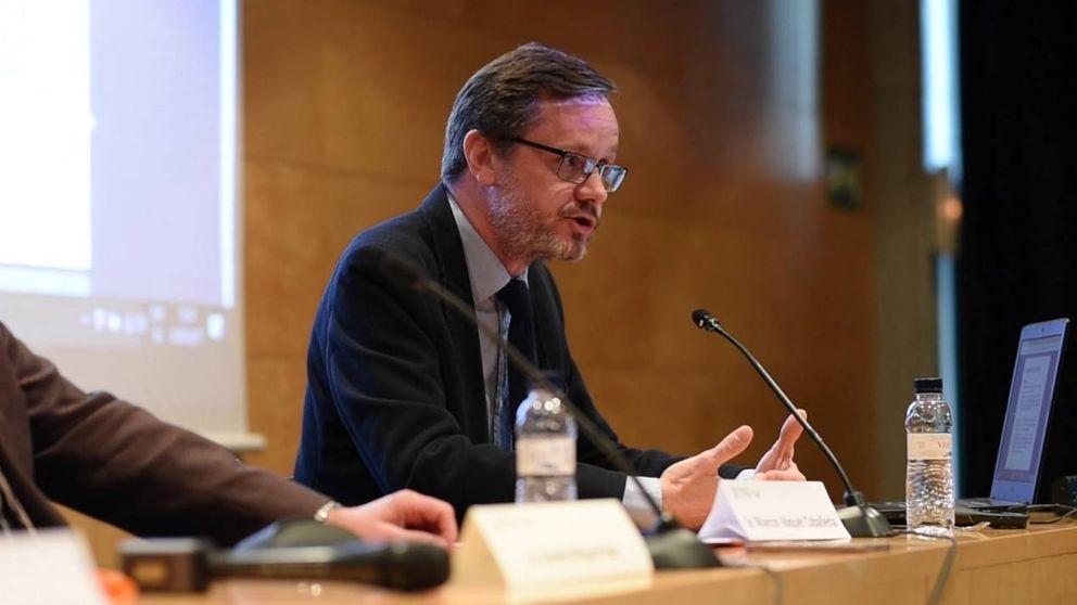 La Carlos III mantiene como jefe jurídico a un imputado de la caja B del PSOE