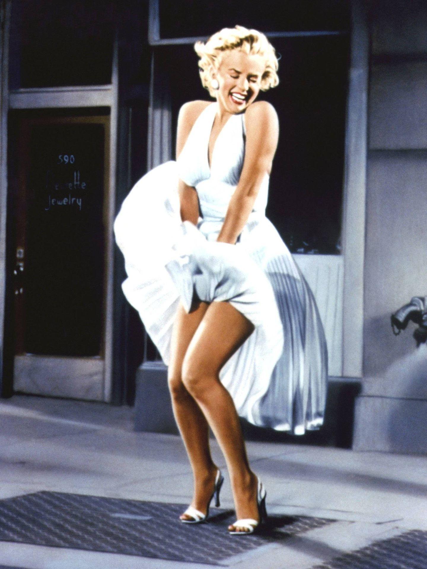 Marilyn, en 'La tentación vive arriba'. (Cordon Press)