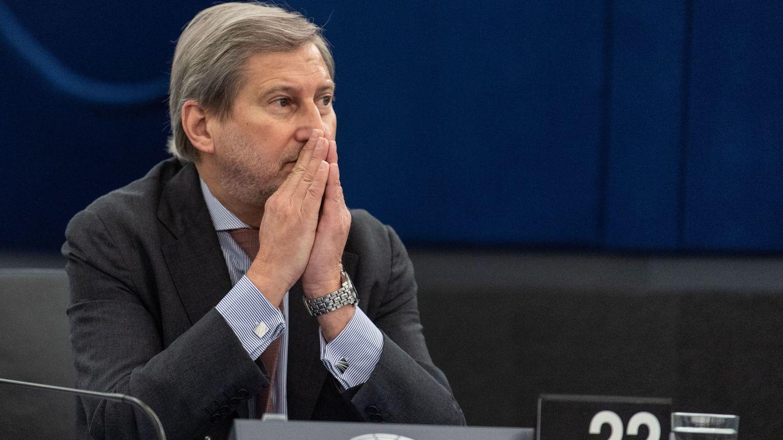 Foto: El comisario europeo de Presupuestos, Johannes Hahn. (EFE)