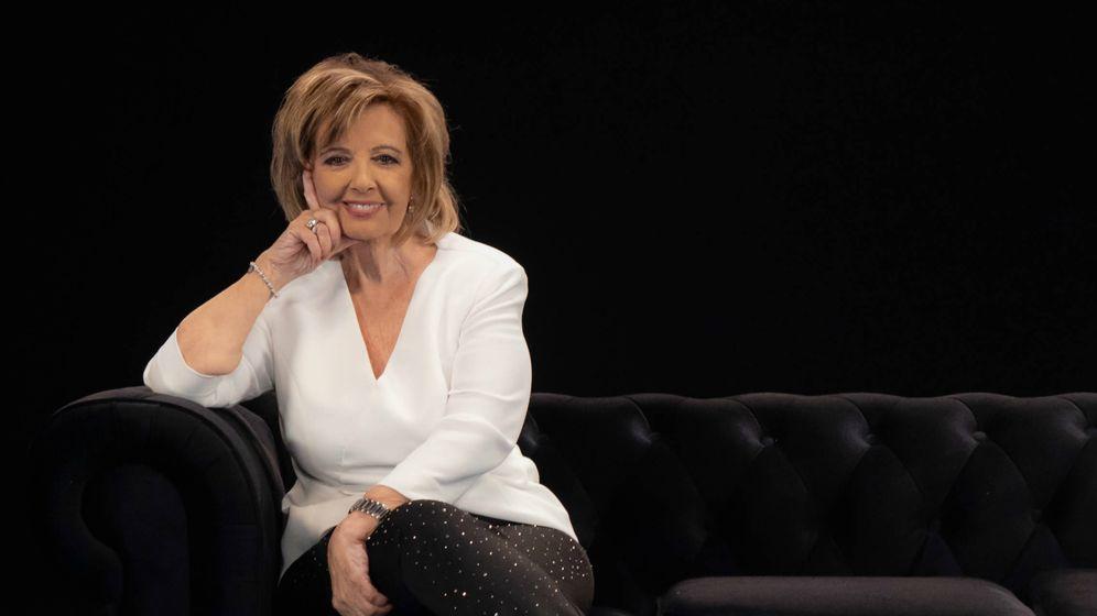 Foto: La presentadora María Teresa Campos. (Movistar )
