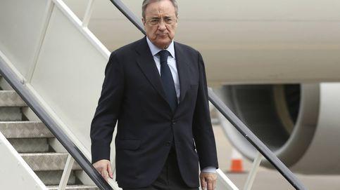 Florentino acelera en el Mundialito la venta de los 'naming rights' del Bernabéu