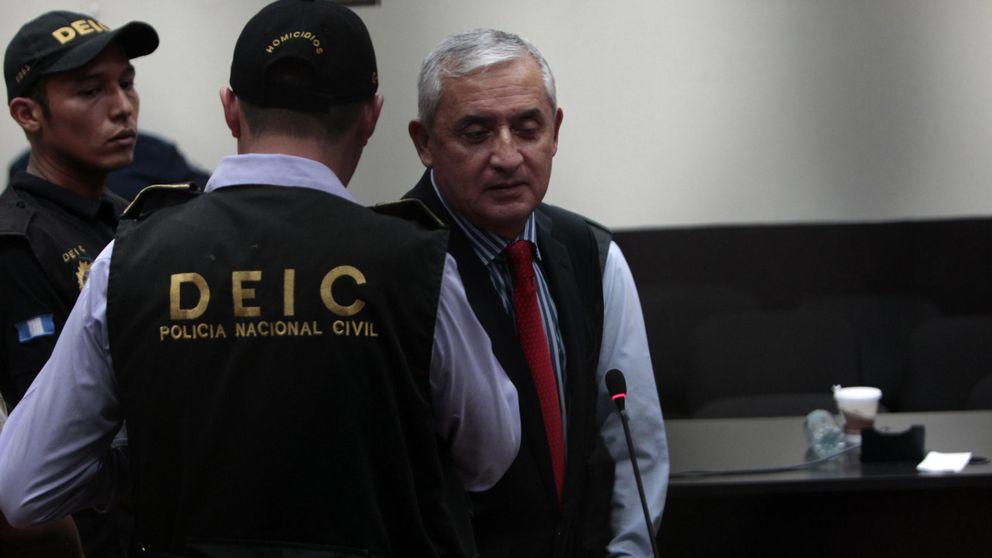 El juez ordena prisión provisional para el expresidente de Guatemala