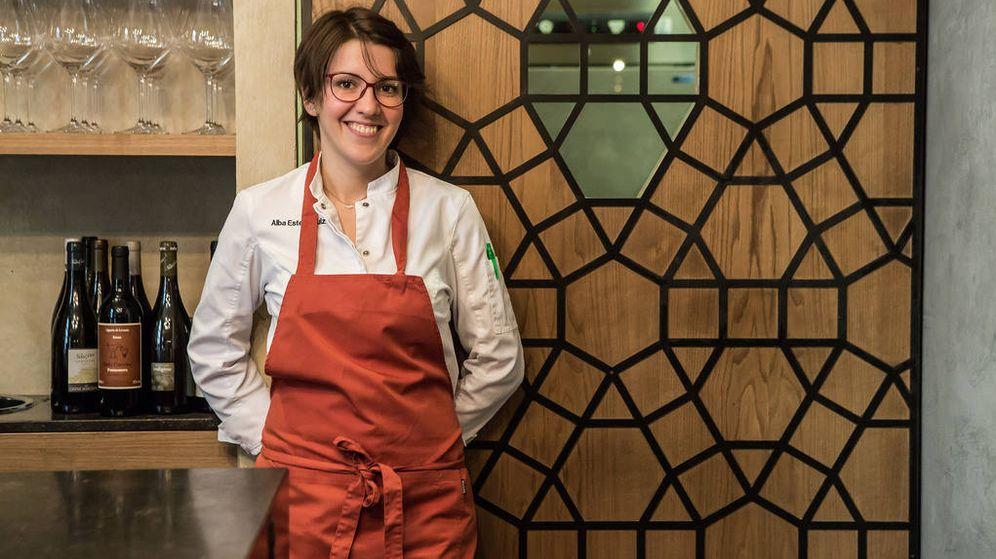 Foto: La chef en su restaurante. (Marzapane)