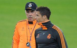 Ancelotti no quiere correr riesgos con un CR7 que apunta a la Liga