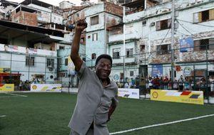 Pelé es internado nuevamente en Sao Paulo por infección urinaria