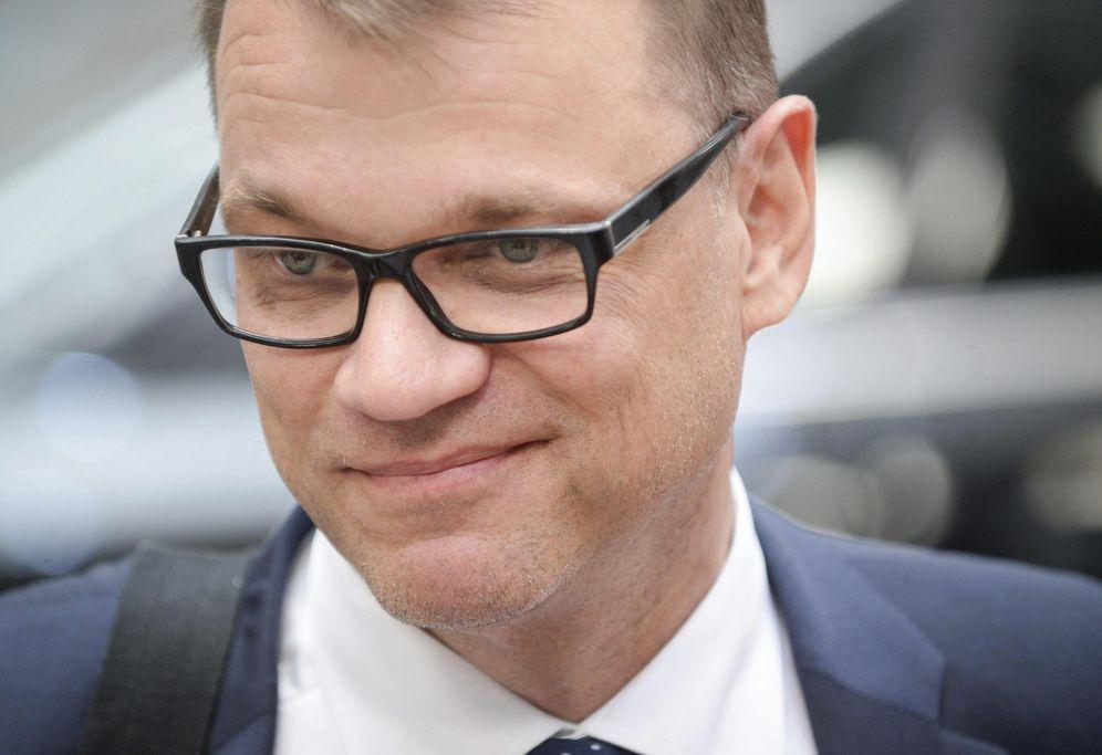 Foto: El primer ministro finladés, Juha Sipilä, impulsor de la renta básica. (Efe / Stephanie Lecocq)
