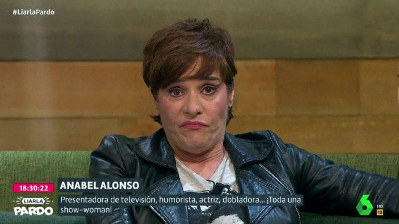 Foto: Anabel Alonso, en el programa de Cristina Pardo. (Atresmedia).