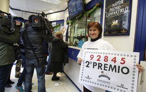 Lotería de Navidad 2014: El número 92.845, segundo premio del sorteo