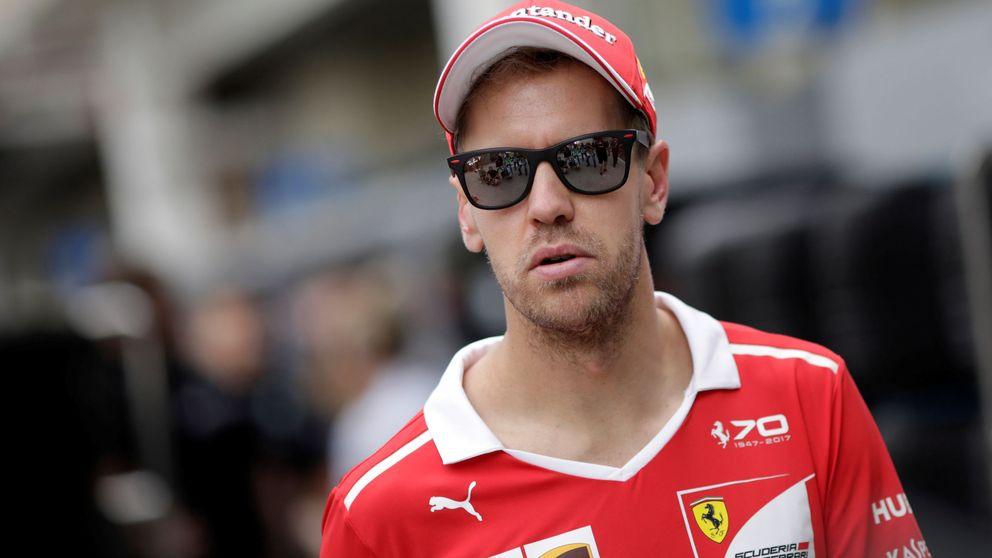 El día que a Sebastian Vettel se le puso la mosca en la nariz y pegó un respingo