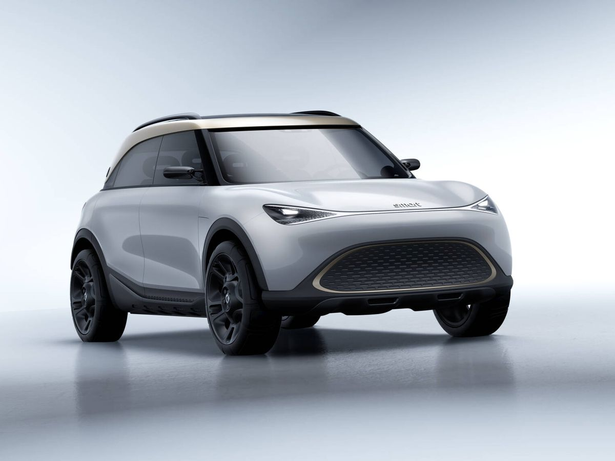 Foto: Smart entra en una nueva era con este Concept#1, su primer SUV, y además 100% eléctrico.