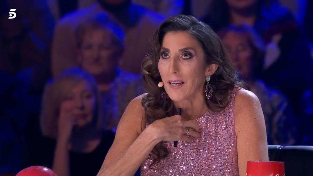 Foto: Paz Padilla, en 'Got Talent'. (Telecinco).