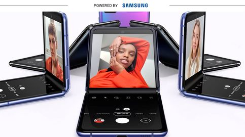 Samsung Galaxy Z Flip pone el futuro de la telefonía móvil en la palma de tu mano