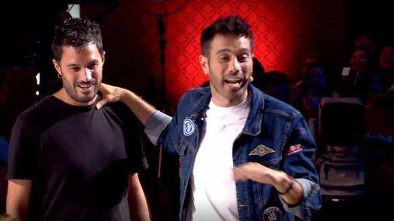 Dani y Nacho. (Mediaset)