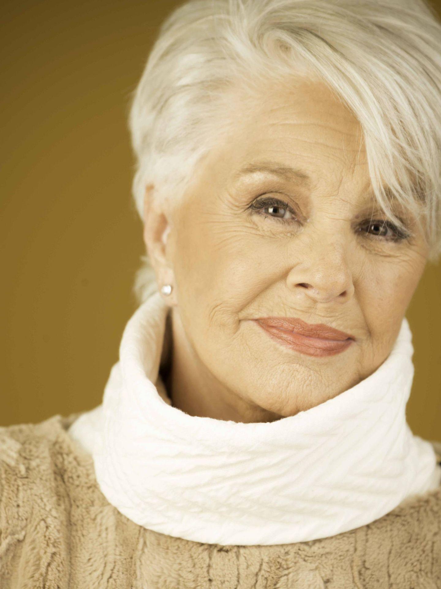 Lola Herrera, en otra imagen de la sesión. (Foto: Daniel Dicenta Herrera)
