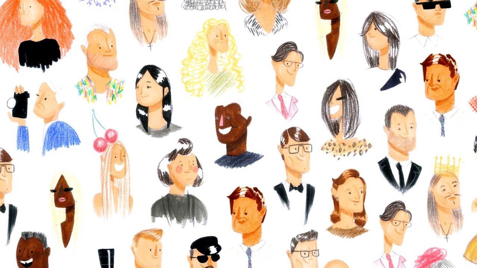 Foto: La ilustración siempre ha formado parte del mundo de la moda (Cortesía Gonzalo Muiño)