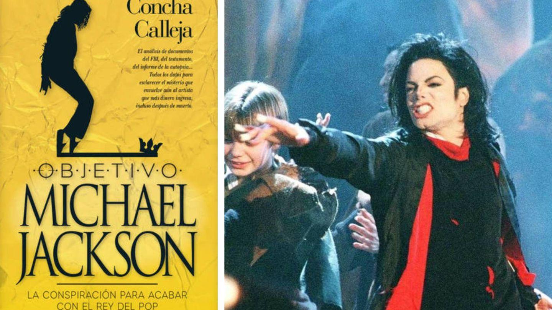 La portada del libro y una imagen de Jackson. (C.P.)
