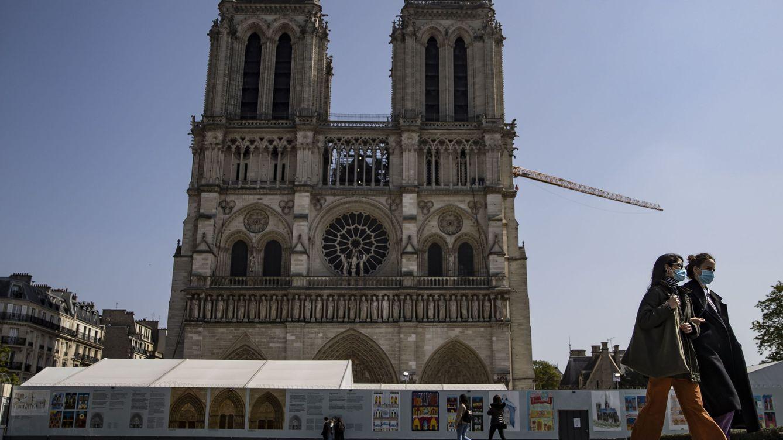 Macron mantiene el objetivo de reconstrucción de Notre Dame para 2024: Francia está movilizada