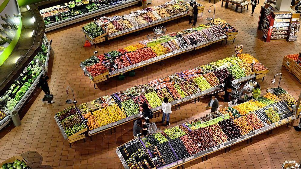 Foto: Un supermercado.