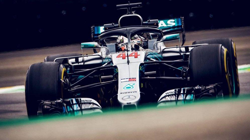 Foto: Hamilton se llevó la victoria en el GP de Brasil. (Twitter: @MercedesAMGF1)