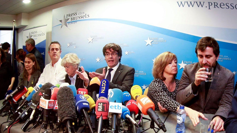 Puigdemont y sus 'exconsellers' de Bruselas renunciarán a sus escaños tras las elecciones