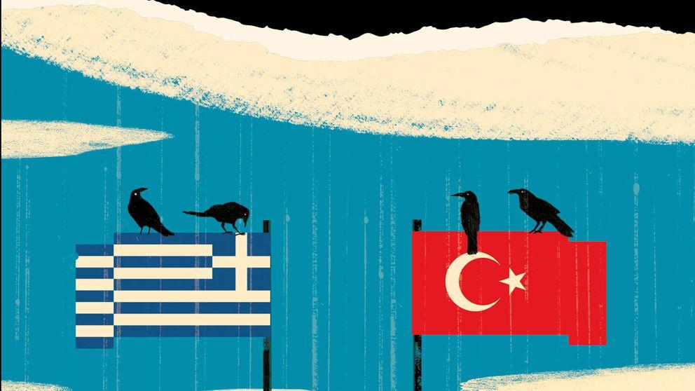 El abismo entre Turquía y Grecia que desemboca en un cementerio sin nombre