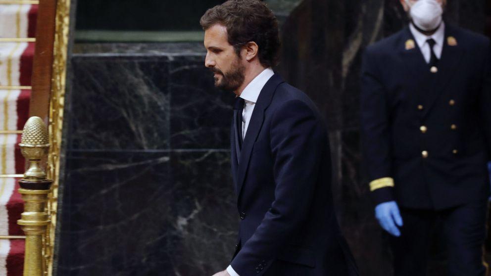 El traspié de Madrid debilita a Casado tras su pésima semana