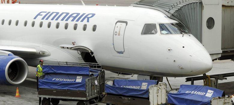Foto: Uno de los aviones de la compañía finlandesa Finnair. (EFE)