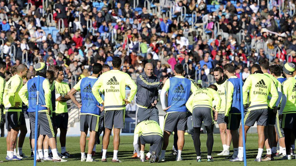 Zidane debe recuperar la autoestima de la mosqueada segunda línea del Madrid