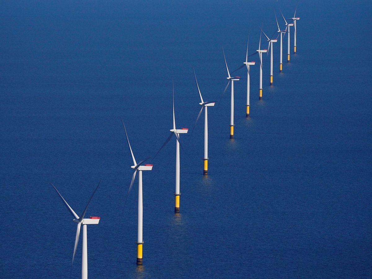 Foto: Un parque de eólica marina. (Reuters)
