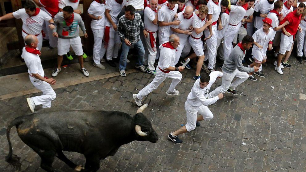 Sanfermines: Un toro regresa al corral en el quinto encierro, un hecho insólito en 80 años