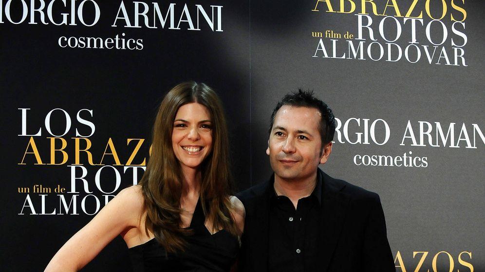 Foto: Manuela Velasco y Rafa Castejón, en un estreno de cine. (Getty)