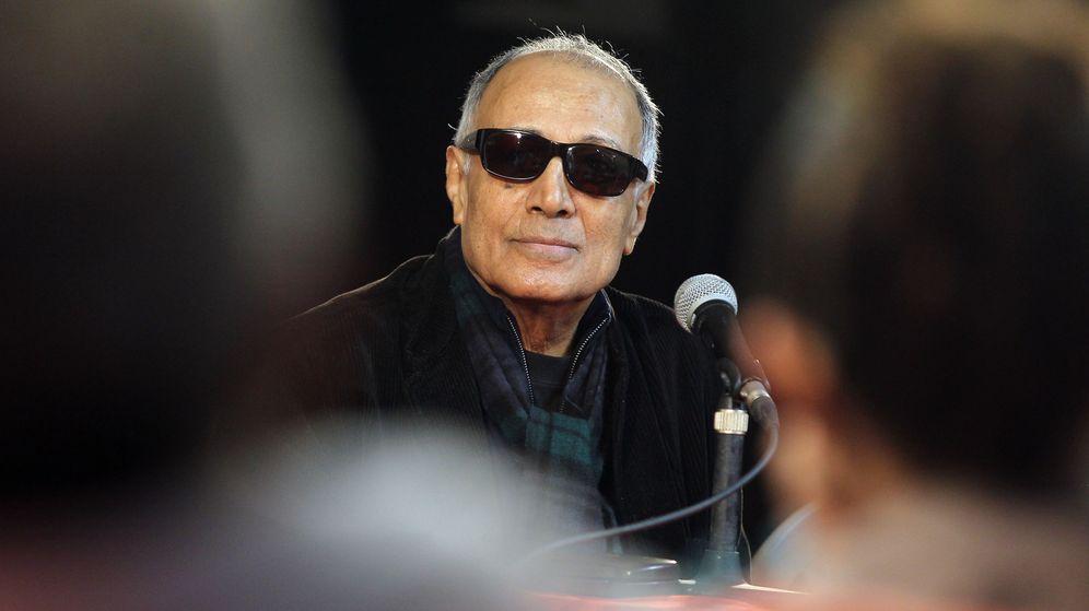 Foto: Abbas Kiarostami en una charla en Cuba el pasado mes de enero