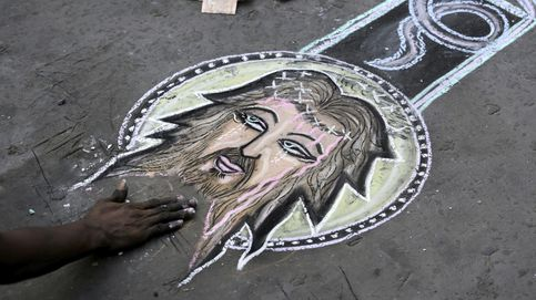 Arte callejero en Calcuta