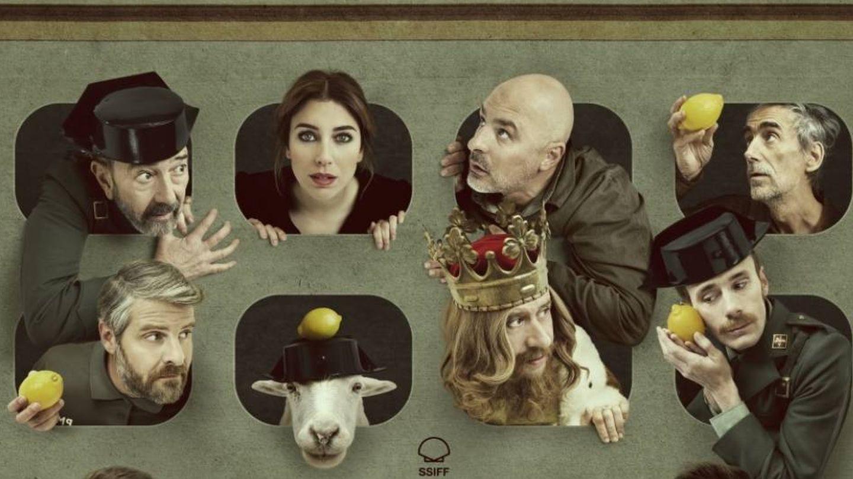Parte de arriba del cartel de 'Tiempo después'.