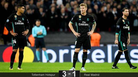 El invento de Zidane no funciona y Casemiro es el mejor ejemplo