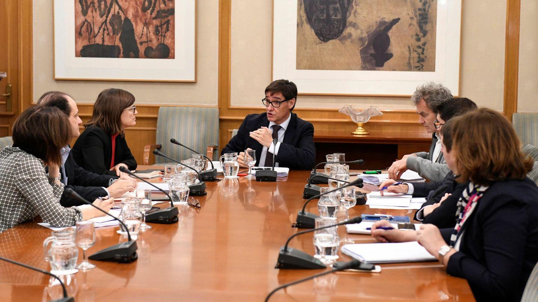 Reunión del Comité de Seguimiento del Coronavirus. (EFE)