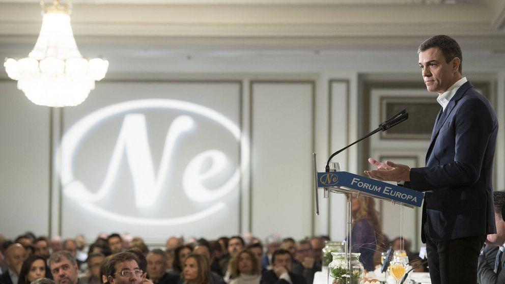 Sánchez propone un impuesto a la banca  para costear las pensiones