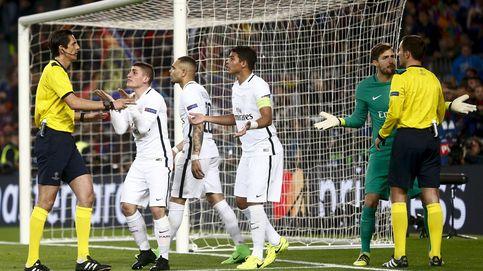 El árbitro del Lorient-PSG dio el 'pésame' a Emery por la vergüenza del Camp Nou