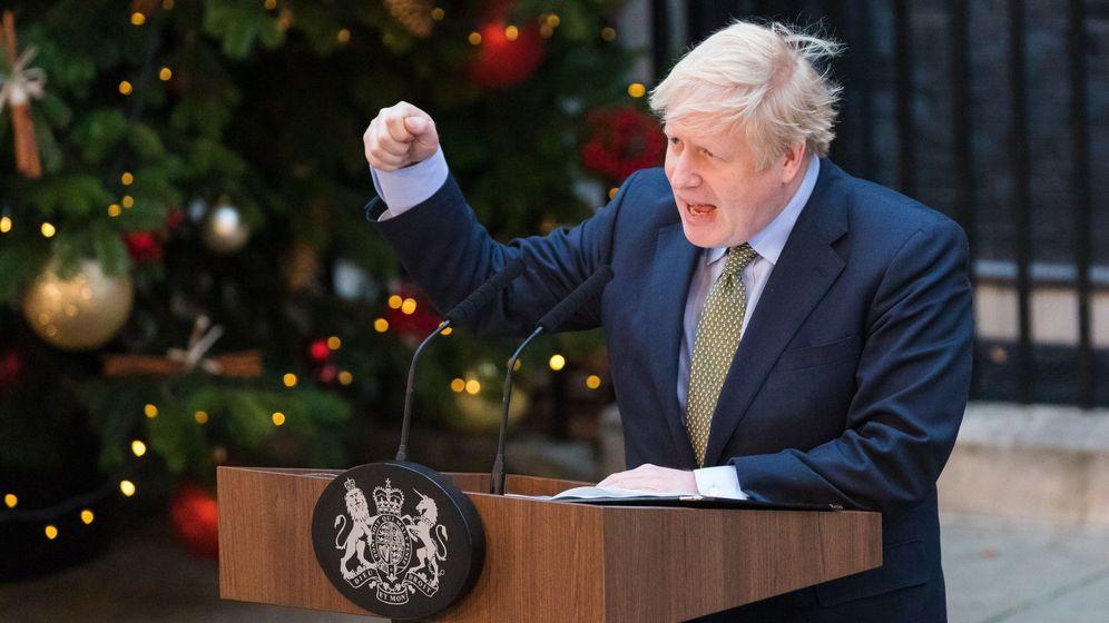 Foto: El primer ministro británico, Boris Johnson. (EFE)