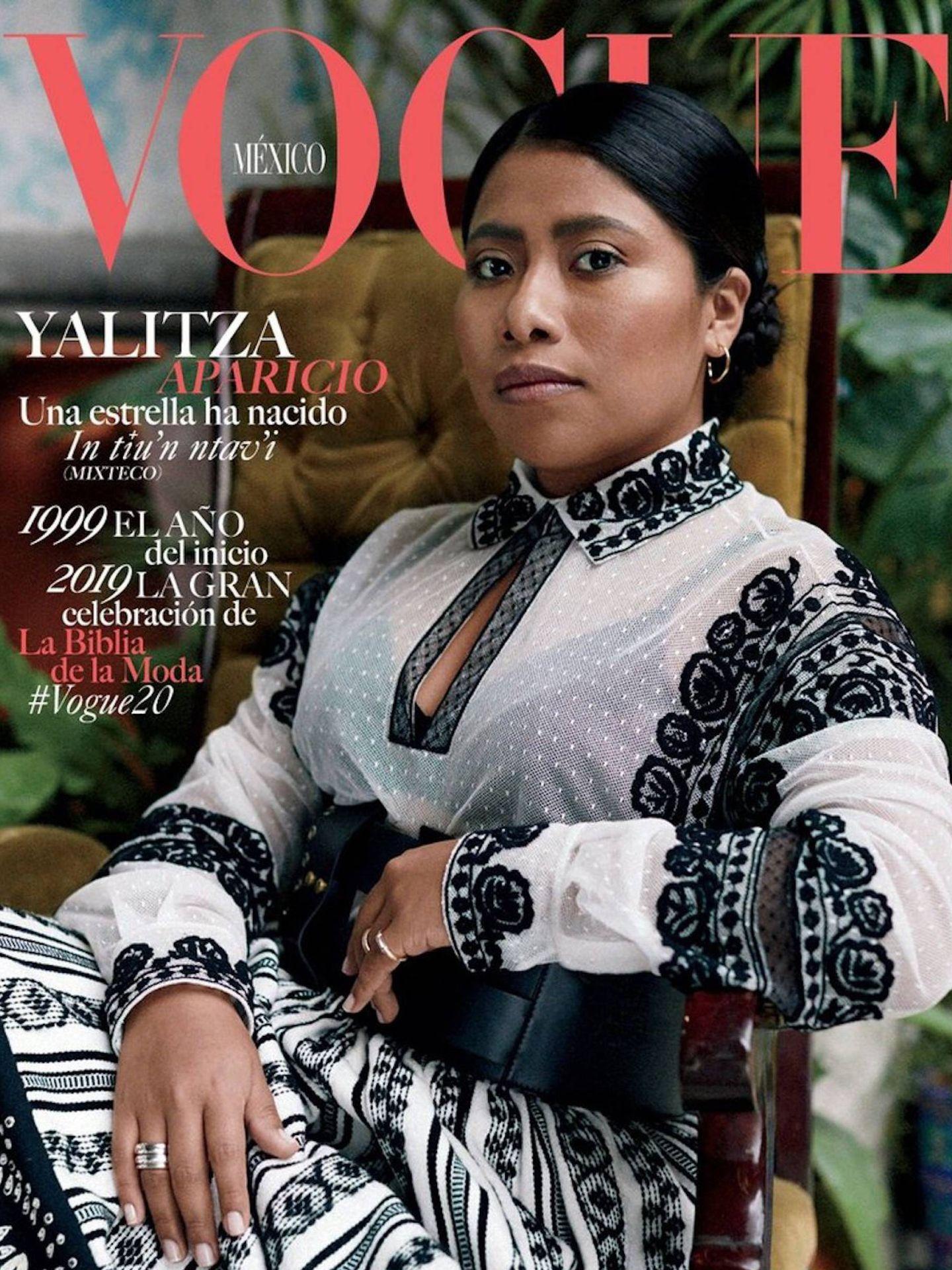 Portada de 'Vogue México' con Yalitza Aparicio.