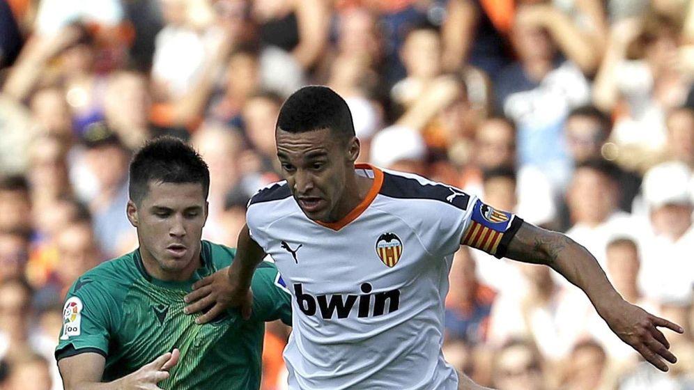 Foto: Rodrigo fue titular en el Valencia-Real Sociedad jugado el pasado sábado. (EFE)