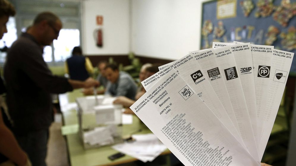 Foto: Los siete mapas que resumen las elecciones catalanas del 27-S
