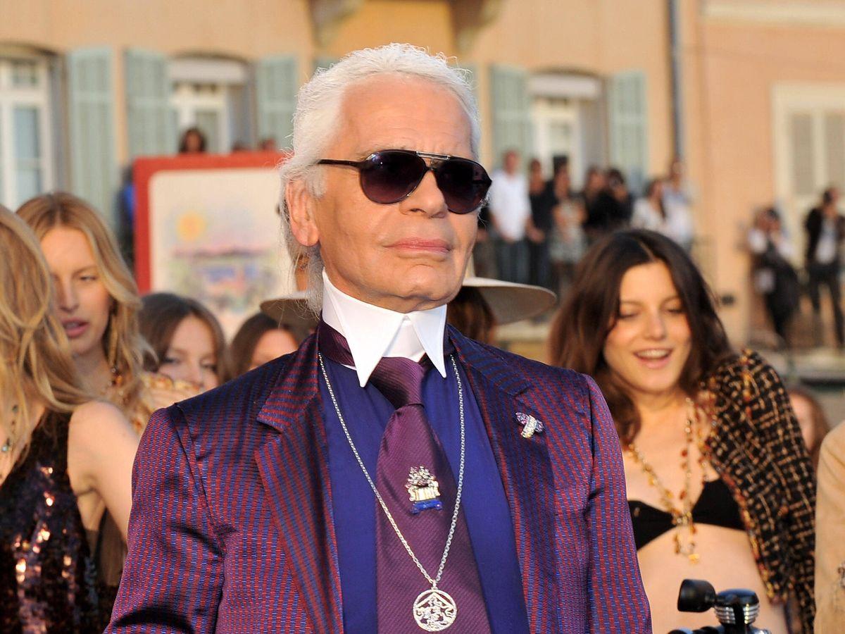 Foto: El diseñador Karl Lagerfeld, en una imagen de archivo. (Getty)